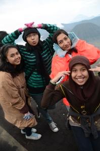 Pagi Hari di Gunung Bromo Probolinggo, Jawa Timur