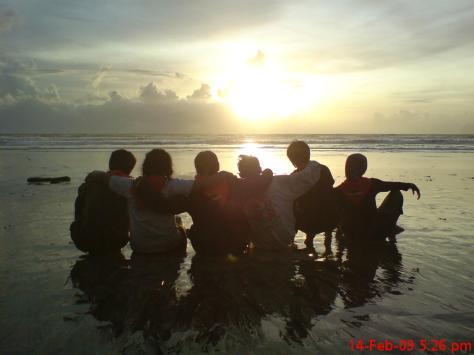 Menanti Sun Set dengan Sahabat IMPALA Brawijaya