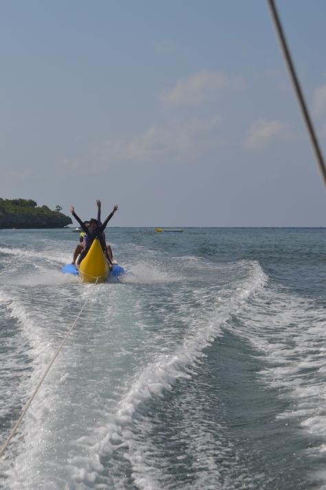 Snorkling - Luanjut Banana Boat !!!! Ayo...Teriaakkk!!Aaaaaarghhhh....!!!!