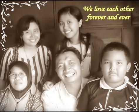 Happy Family di atas Kapal menuju pulau Bali