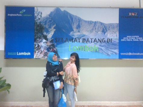 Saat Tiba di Bandara Internasional Lombok