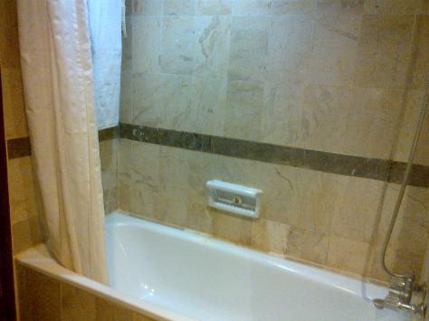Bath Tub Kamar tempatku Bermalam