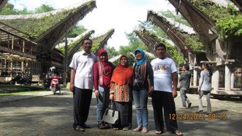 Happy Family in Toraja Sulawesi Selatan