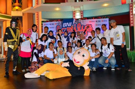 Family Gathering di Trans Studio Makassar