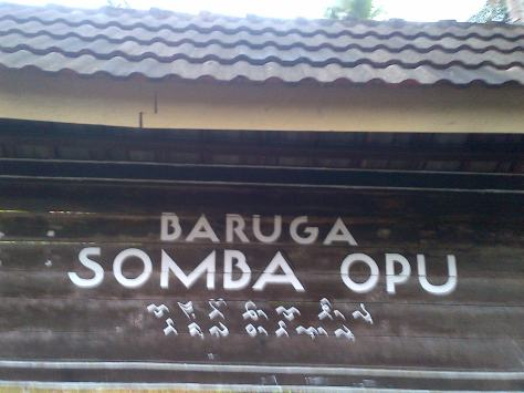 Pintu masuk Somba Opu