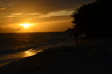 Sun Set...Sebentar lagi Waktu Dinner..!!!!